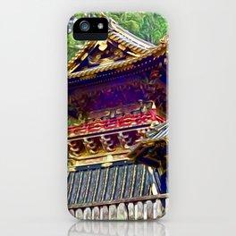 Tosho-gu Shrine, Nikko, Japan iPhone Case