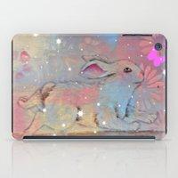 bunny iPad Cases featuring Bunny by Judy Skowron