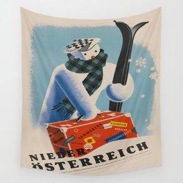 Vintage poster - Niederosterreich Wall Tapestry