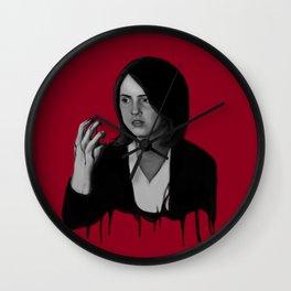 Bad Blood IV Wall Clock