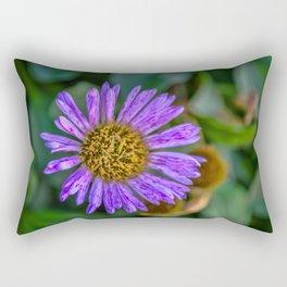 Purple Aster Rectangular Pillow