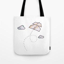 paperplane Tote Bag