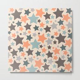 Camouflage star Metal Print