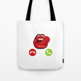 Naughty Design 0 Fancy a Shag? Sex Intercourse, Sexual Licking Lips Design Tote Bag