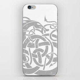 JÖRMUNGANDR iPhone Skin