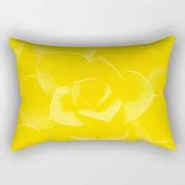 Succulent Plant Yellow Mellow Color #decor #society6 #buyart Rectangular Pillow