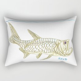 Key West Tarpon II Rectangular Pillow