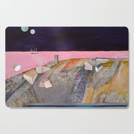 Nisja: the night train 11 Cutting Board