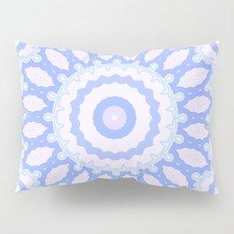 Mandala Blue Pillow Sham