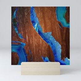 Agate River Mini Art Print