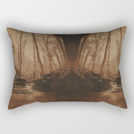 Slate Creek Waterfall Rectangular Pillow