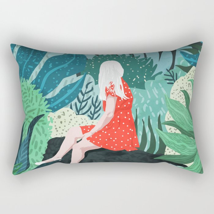 Forest Gaze Rectangular Pillow