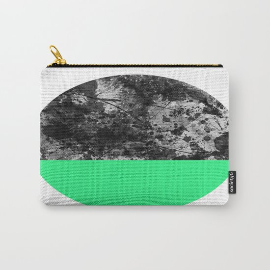 Bathing Moon (In Green) Carry-All Pouch