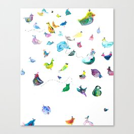 Chickens! Canvas Print