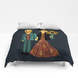 Love is Art Frida Kahlo and Van Gogh Comforters