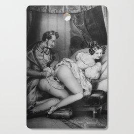 """""""Nouvel Album Érotique"""" (1840) by Achille Devéria (1800-57) Cutting Board"""