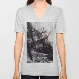 All Hands On Deck Unisex V-Neck