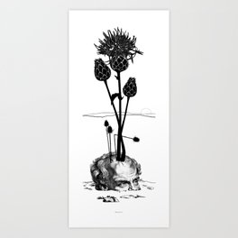 A visual Metaphor for the Philosophical idea of Hope. Art Print