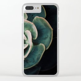 DARKSIDE OF SUCCULENTS IV-2 Clear iPhone Case
