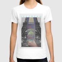 icecream T-shirts featuring Icecream by john muyargas