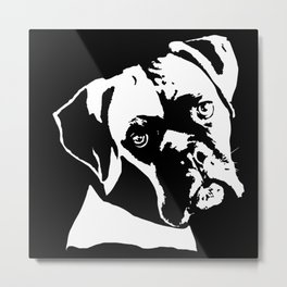 GIFTS FOR BOXER DOG LOVERS FROM MONOFACES IN 2021 Metal Print