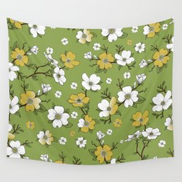 Lovable Flowers 2 Wall Tapestry