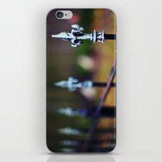 St. Louis Fleur de Lis Fence iPhone & iPod Skin