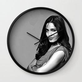 Frieda Pinto - Celebrity Art Wall Clock