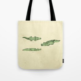 Lego Crocodile  Tote Bag