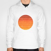 sunrise Hoodies featuring Sunrise by Diogo Verissimo