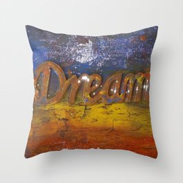 Dream Abstract Throw Pillow
