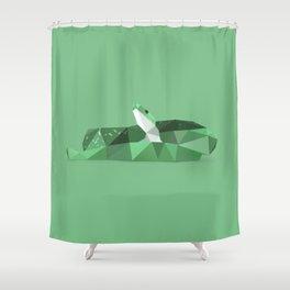Snake. Shower Curtain