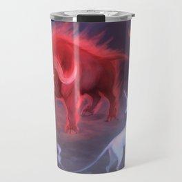 Unicorn and Bull Travel Mug