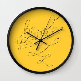 Be Positive! Wall Clock