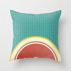 Grapefruit I Throw Pillow