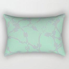 Thorns Mint Rectangular Pillow