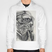 garrus Hoodies featuring Garrus  by VWelch78