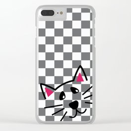 Ska Cat Clear iPhone Case