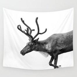 Animal Photography | Reindeer Minimalism | Antlers Christmas | Rudolf Wall Tapestry