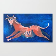 Strange Animal Canvas Print