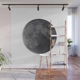 Moon at day Wall Mural