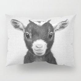 Baby Goat - Black & White Pillow Sham