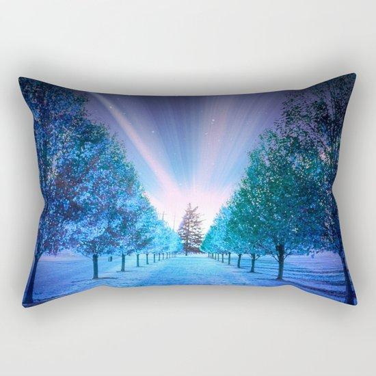 Fantasy Path Rectangular Pillow