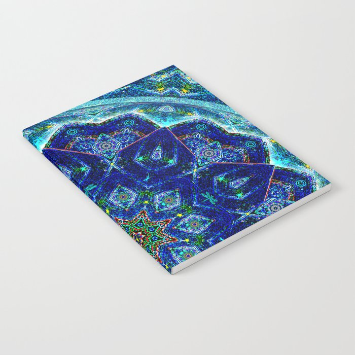Summer Night Fireflies Notebook
