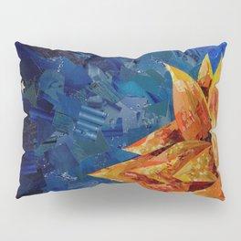 Star Bloom Collage Pillow Sham