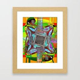 Strat 9 Framed Art Print