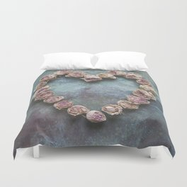 Heart of Roses Duvet Cover