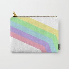 Retro Stripes Carry-All Pouch