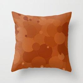 Adobe Bubble Dot Color Accent Throw Pillow