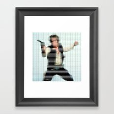 Han Solo - StarWars - Pantone Swatch Art Framed Art Print